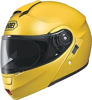 Shoei Neotec Brilliant Yellow Modular Helmet - Small