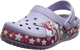 Crocs Baby Kid's Unicorn Band Clog|Slip On Water Shoe for Toddlers, Boys, Girls