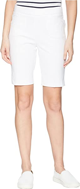 "Jacquard 10"" Pull-On Shorts"