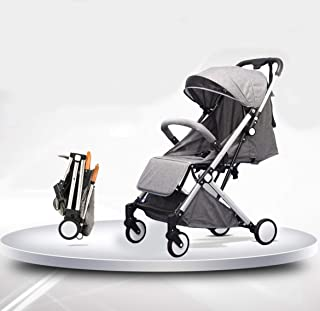 Light Folding Baby Carriage Portable Baby Stroller Umbrella Cart Travel Pram Pushchair For Newborn Toddler Buggy Grey