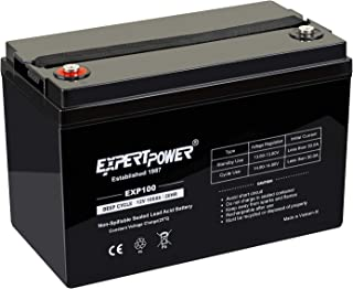 ExpertPower 12V 100Ah Solar Wind Power Agm Sealed Lead Acid Battery