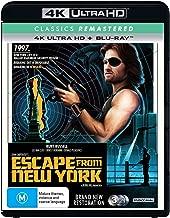 Escape From New York 4K Ultra HD Blu-ray   John Carpenter's   Region B