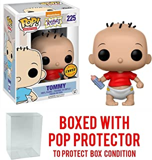 Funko Pop! Animation: Rugrats - Tommy Pickles CHASE VARIANT Vinyl Figure (Bundled with Pop BOX PROTECTOR CASE)
