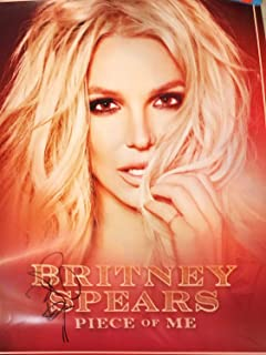 Britney Spears signed Piece of Me 24