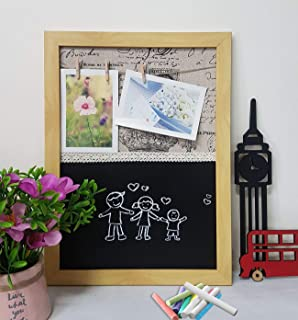Art Street - Chalk Board - to DO List Board with Photo Hanging Clip