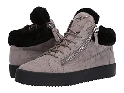 Giuseppe Zanotti May London Shearling Sneaker (Sloane) Men