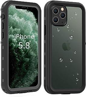 SenMore Funda Impermeable iPhone 11 Pro,Transparente 360 Grados Case Antigolpes Carcasa con Protector de Pantalla Integrad...