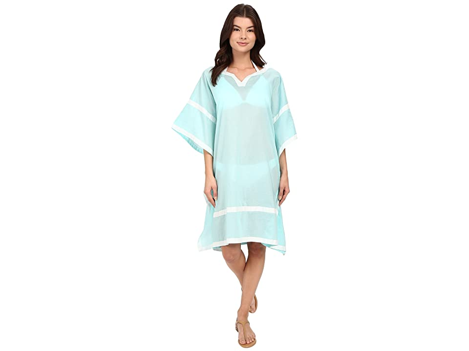 Vince Camuto Shore Side Tunic Cover-Up (Aqua Shade) Women