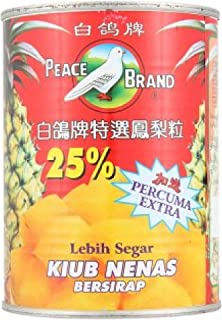Peace Brand Pineapple Cubes In Syrup 454g (628MART) (1 Count)