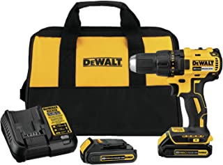 DEWALT DCD777C2R 20V MAX Cordless Lithium-Ion Compact Brushless Drill Driver Kit (Reconditioned by Manufacturer)