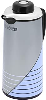 Royalford 1L Vacuum Flask - Heat Insulated Thermos for Keeping Hot/Cold Long Hour Heat/Cold Retention, Multi-Walled, Hot W...