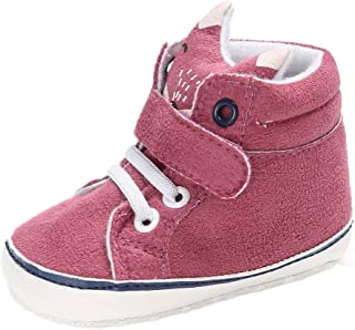 VEKDONE Baby Girl Boys Fox Hight Cut Shoes Sneaker Anti-slip Soft Sole Toddler