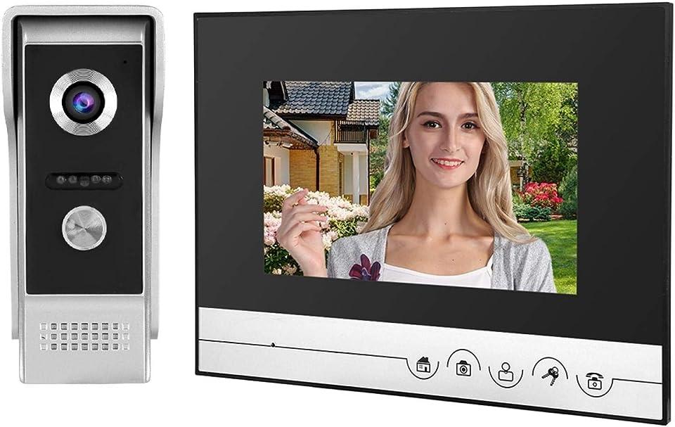 Smart Doorphone Doorphone Automatische Aufnahme Vedio, für den Außenbereich, für Entry Systerm(European regulations)