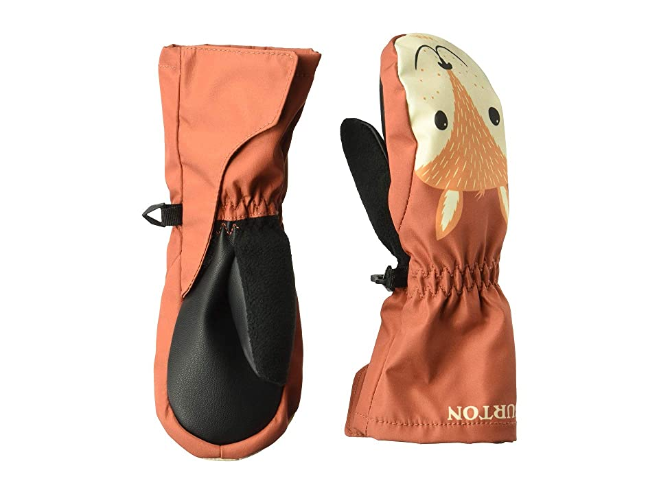 Burton Kids Minishred Grommitt Mitt (Toddler) (Hot Sauce) Snowboard Gloves