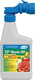 Monterey LG 6145 70% Neem Oil Ready-To-Spray Insecticide, Miticide, Fungicide, 16 oz, 16 oz