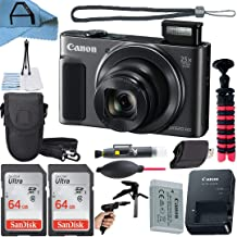 $299 » Canon PowerShot SX620 HS Digital Camera 20.2MP Sensor with 2 Pack SanDisk 64GB Memory Card, Case, Tripod and A-Cell Access...