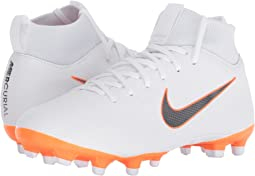 White/Metallic Cool Grey/Total Orange