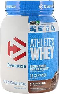 Dymatize Nutrition Athlete's Whey 29.2 Oz (1.83lb) (830g) Chocolate Shake, 1.8 Pound