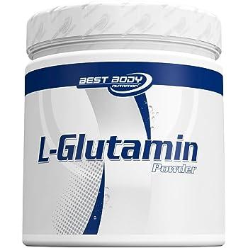 Best Body Nutrition Aminosäuren - L-Glutamin Pulver, 250 g Dose