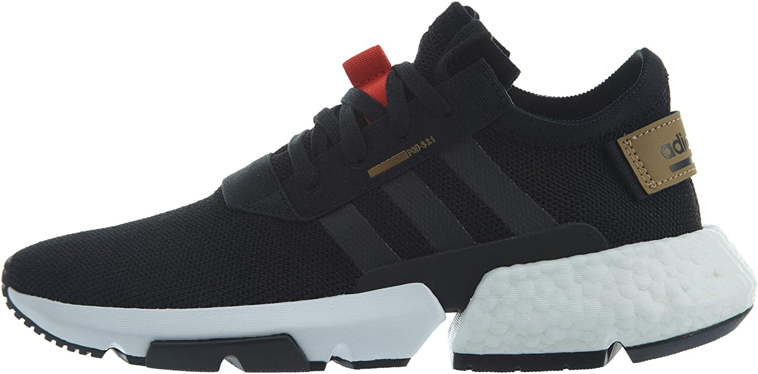 adidas Kids Boys Pod-S3.1 Lace Up Sneakers Shoes Casual - Black
