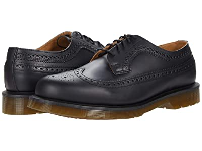Dr. Martens 3989 Smooth Leather Brogue (Black Smooth) Shoes
