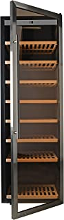 HYD-Parts 192 Bottles Free Standing Thermoelectric Wine Refrigerator,Super Large Wine Bottles rack Cooler with Stainless Door for Kitchen Bar