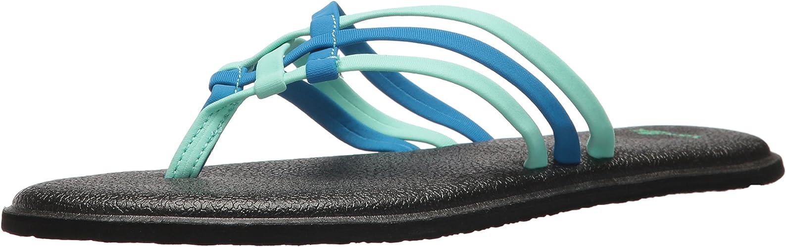 Sanuk W Yoga Salty Sandals