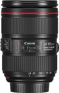 Canon Obiettivo, EF 24-105 mm f/4L IS II USM, Nero, Bulk