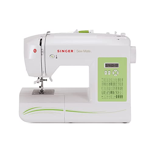 SINGER Factory Serviced 5400 Fashion Mate 60-Stitch Electronic Sewing Machine with 4 Buttonhole Styles