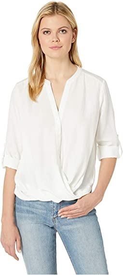 Armelle 3/4 Sleeve Button Up Top