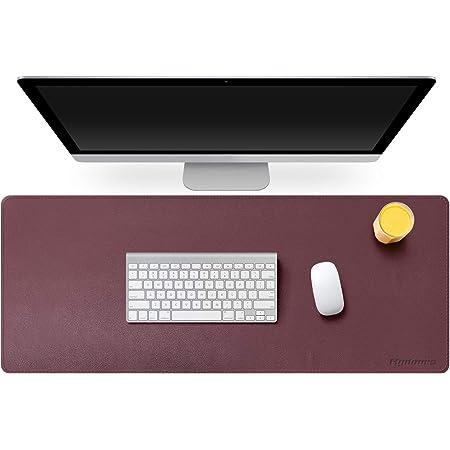 Mydours Große Schreibtischunterlage 95 X 40cm Pu Leder Elektronik