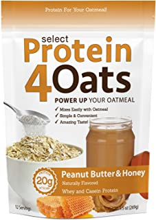 Pescience Select Protein 4 Oats, Peanut Butter & Honey, 12 Serving