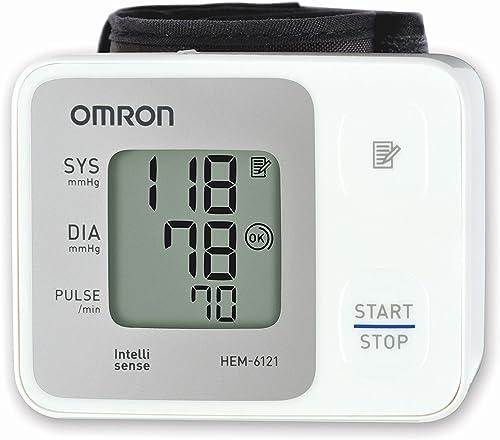 OMRON RS2 Tensiomètre au Poignet Électronique, Détection de pulsations cardiaques irrégulières, 30 mesures sauvegardé...