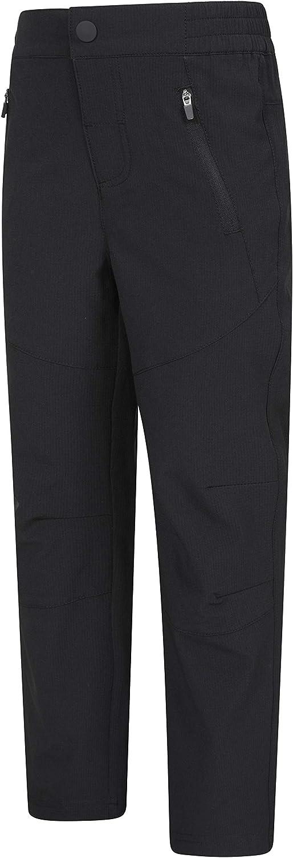 Mountain Warehouse Mountain Kids Lightweight Pants Ripstop Fabric