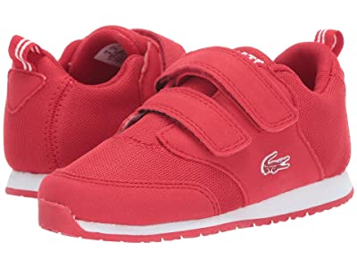 Lacoste Kids L.ight (Toddler/Little Kid) (Red/White) Kids Shoes