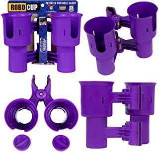 ROBOCUP 12 Colors, Best Cup Holder for Drinks, Fishing Rod/Pole, Boat, Beach Chair, Golf Cart, Wheelchair, Walker, IV, Dru...