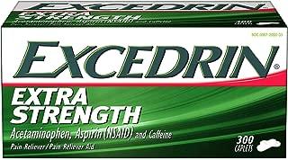 300 Coated Caplets - Excedrin Extra Strength, Headache Relief, Acetaminophen, Aspirin and Caffeine, 300 Caplets