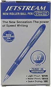 Jet Stream BallPoint pen - SX-217, 0.7 mm, Set of 12 Pieces, Blue