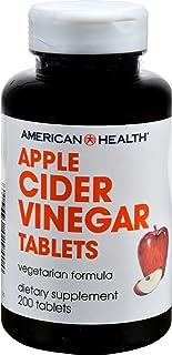 4 Pack of American Health Apple Cider Vinegar - 300 mg - 200 Tablets - Gluten Free - -