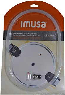 IMUSA USA 12Qt, 16Qt & 22Qt Repair Kit for IMUSA Pressure, Red