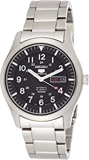 Seiko Men Silver Analog Watch - SNZG13K1