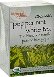 100% Organic Peppermint White Tea 18 Bag(S)