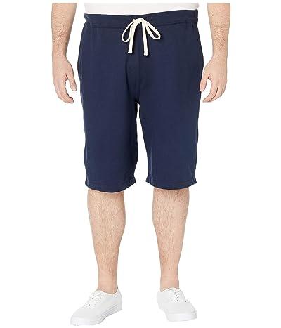 Polo Ralph Lauren Big & Tall Big Tall Fleece Athletic Shorts (Cruise Navy) Men