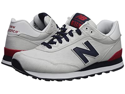New Balance Classics ML515 (Nimbus Cloud/NB Navy/Red) Men