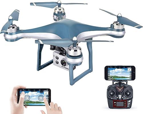 MBEN Professionelle GPS-FPV-Drohne, 5G-WiFi-GPS-Positionierung, ESC 1080P-HD-Vier-Achsen-Drohne, gefolgt von Einem Fernsteuerungsflugzeug, geeignet für den ersten Erwachsenen