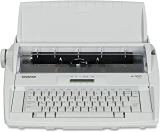 Brother ML-300 Electronic Display Typewriter - Retail Packaging (Renewed)