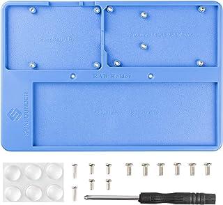 SunFounder RAB Holder Raspberry Pi Breadboard Holder 5 in 1 Base Plate with Rubber Feet for Arduino R3 Mega 2560, Raspberr...