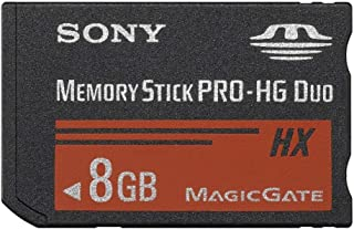Sony 8GB High Speed 50MB/s MemoryStick Pro -HG Duo Flash Memory Card - MSHX8B2
