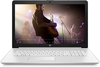 HP 17-inch HD+ Laptop, AMD Athlon Gold 3150U, 4 GB RAM, 1 TB HDD, DVD-Writer, Windows 10 Home (17-ca2020nr, Natural Silver...