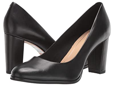 Clarks Kaylin Cara (Black Leather) Women